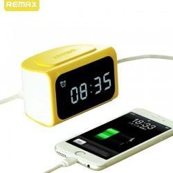 ساعت هشدار دهنده و شارژر 4 پورت Remax RMCG-ZDX