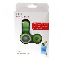 لنز کلیپسی دو کاره Photo Lens T-001