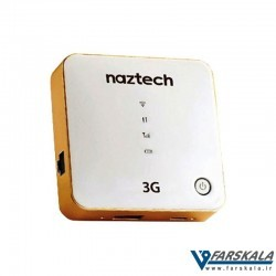 مودم بی سیم و پاور بانک نزتک مدل Naztech NZT-7730 3G Router Wi-Fi Hotspot and Powerbank