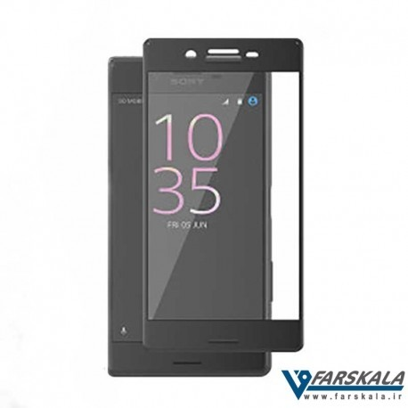 محافظ صفحه نمایش شیشه ای رنگی 3D Glass برای گوشی Sony Xperia X