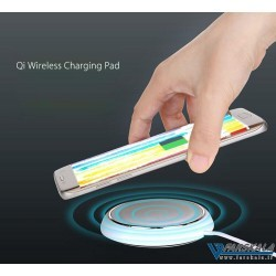 شارژر بی سیم راک Skittles Qi Wireless Charger مدل DT-610