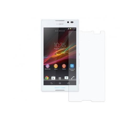 محافظ صفحه نمایش شیشه ای برای Sony Xperia C