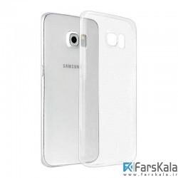 قاب محافظ شیشه ای- ژله ای برای Samsung Galaxy S6 edge