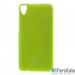 قاب محافظ ژله ای رنگی GOOSPERY MERCURY برای HTC Desire 820