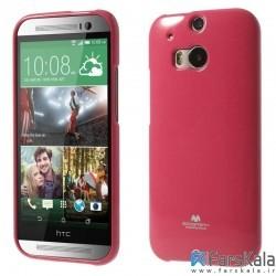 قاب محافظ ژله ای رنگی GOOSPERY MERCURY برای HTC One M8