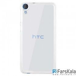 قاب محافظ شیشه ای Crystal Cover برای گوشی HTC Desire 828