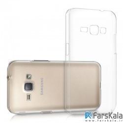 قاب محافظ شیشه ای Crystal Cover برای گوشی Samsung Galaxy J1 2016