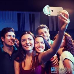 فلش سلفی همراه با لنز واید بیسوس مدل  Baseus Ishining Portable Selfie Light