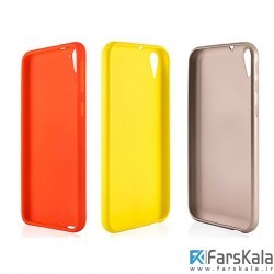 محافظ ژله ای سیلیکونی اچ ت سی TT SBORN TPU Case HTC Desire 830