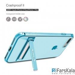 قاب محافظ ژله ای نیلکین  Nillkin Crashproof 2 Series TPU transparent Apple iPhone 8 Plus