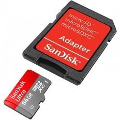 رم میکرو اسدی 64 گیگابایت SanDisk Class 10