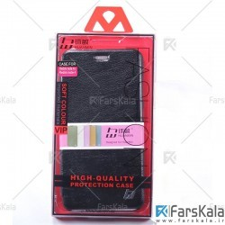 کیف محافظ چرمی شیائومی Huanmin Flipcover Leather Hardcase For Xiaomi Redmi Note 4/4X