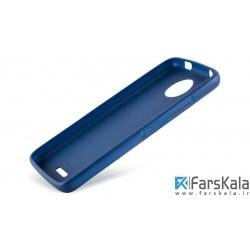 قاب محافظ طرح پارچه ای Protective Cover Motorola Moto C
