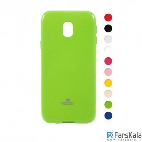 قاب محافظ ژله ای رنگی GOOSPERY MERCURY برای Samsung Galaxy J7 Pro