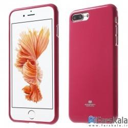 قاب محافظ ژله ای رنگی GOOSPERY MERCURY برای Apple iphone 8 Plus