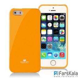 قاب محافظ ژله ای رنگی GOOSPERY MERCURY برای Apple iphone 8