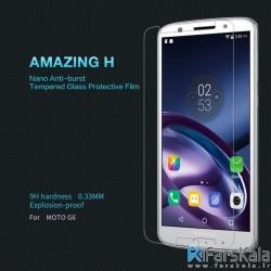 محافظ صفحه نمایش شیشه ای نیلکین Nillkin H Glass Motorola Moto G6
