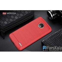 محافظ ژله ای موتورولا Carbon Fibre Case Motorola Moto E4