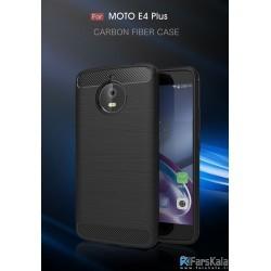 محافظ ژله ای موتورولا Carbon Fibre Case Motorola Moto E4 Plus