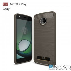 محافظ ژله ای موتورولا Carbon Fibre Case Motorola Moto Z Play