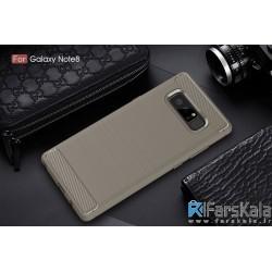 قاب محافظ ژله ای سامسونگ Carbon Fibre Case Samsung Galaxy Note 8