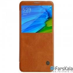 کیف چرمی نیلکین Nillkin Qin Leather Case Xiaomi Redmi Note 5 Pro