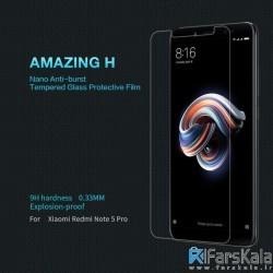 محافظ صفحه نمایش شیشه ای نیلکین Nillkin H Glass Xiaomi Redmi Note 5 Pro