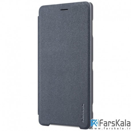 کیف نیلکین Nillkin Sparkle Leather Case Sony Xperia XZ2